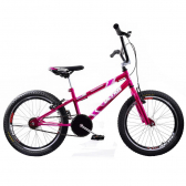 Bicicleta Cross Bmx Aro 20 Ultra V Break Rosa Cromada Giant - Mkp000368000288