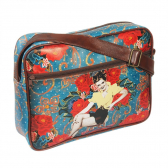 Bolsa Pin Up Azul Exclusiva - 40Cm X 30Cm X 6Cm - Trevisan Concept Mkp000196000311