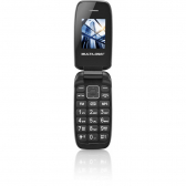 Celular Flip Up Dual Chip Mp3 Preto Multilaser P9022 P9022 - Mkp000278000209