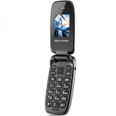 Celular Multilaser Flip Up P9022 Preto Dual Chip - Mkp000315009334