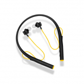 Earphone Pulse Rubber Arco Preto E Amarelo Ph240 - Mkp000278002760