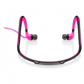 Earphone Sport Stereo Áudio Rosa Pulse Ph201 - Mkp000278000437
