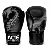 Luvas de Boxe Dragon Preto Acte Sports 12Oz P3  - Mkp000384000304