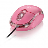 Mouse Multilaser Classic Box Rosa Usb Mo181 - Mkp000278001661