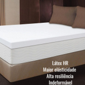 Pillow Top Látex Hr Foam Solteiro 78 X 1,88 X 7Cm Aumar - Mkp000340000046
