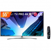 Smart Tv 4K 55 Polegadas Led Ultra Hd Lg - Mkp000627002593